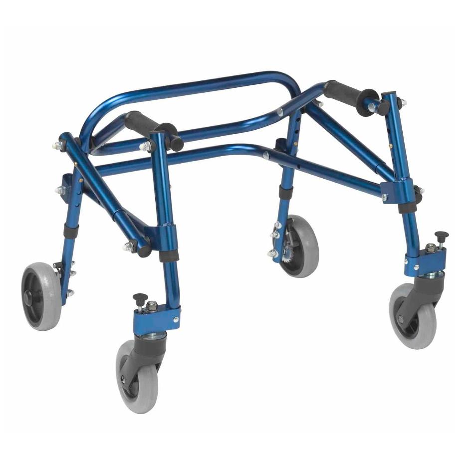 Nimbo 4-caster Rollator Pediatric 1 | RehabLine- Αθλητικό προσθετικό μέλος - Χρονόπουλος-Γουγής-Προσθετικά, Ορθοτικά και Τεχνητά Μέλη,