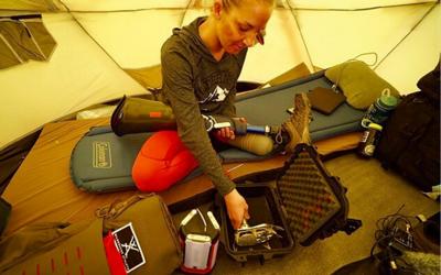 Kirstie Ennis: Στις Επτά Κορυφές με προσθετικό πόδι