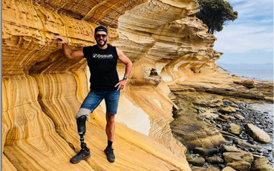 Swim, bike, run: ο τριαθλητής Brice Marmonnier ετοιμάζεται για τους Παραολυμπιακούς του Τόκυο με προσθετικό πόδι
