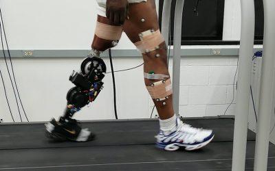 Κινητήρας του Διεθνούς Διαστημικού Σταθμού σε πρωτότυπο προσθετικό πόδι!