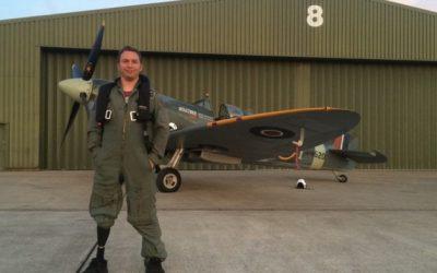 Πιλότος Spitfire με Ottobock Genium X3
